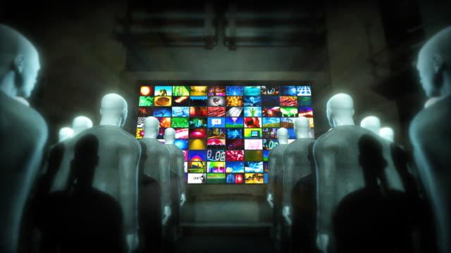 People Watching Videos (Loop) video