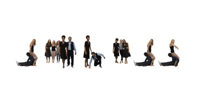 SUCCESS people word Unique horizontal point of view for this take on alphabet people forming the word 'SUCCESS'. Spelling the word out of a combination of interesting moves and holds.  Casual young team working together to produce words. alphabet stock videos & royalty-free footage