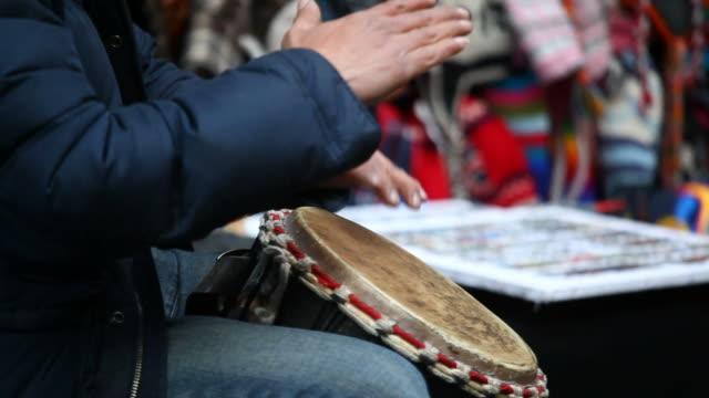 percussionist fulll HD video