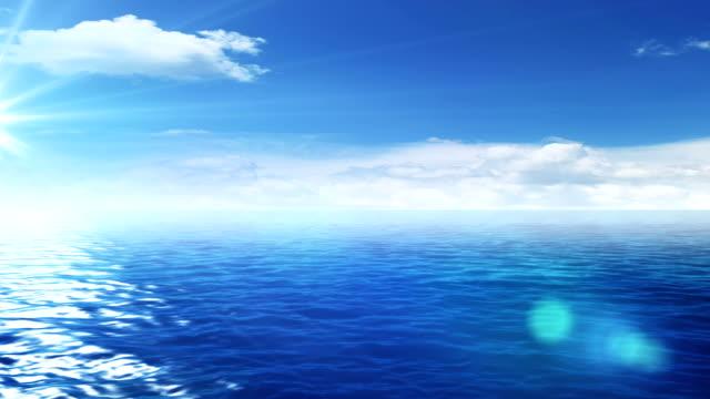 Perfect seascape video