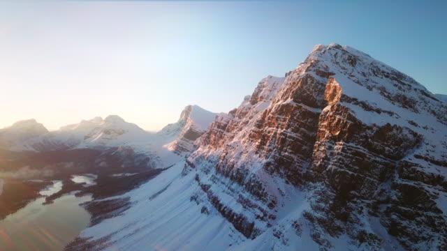 Perfect snow mountain