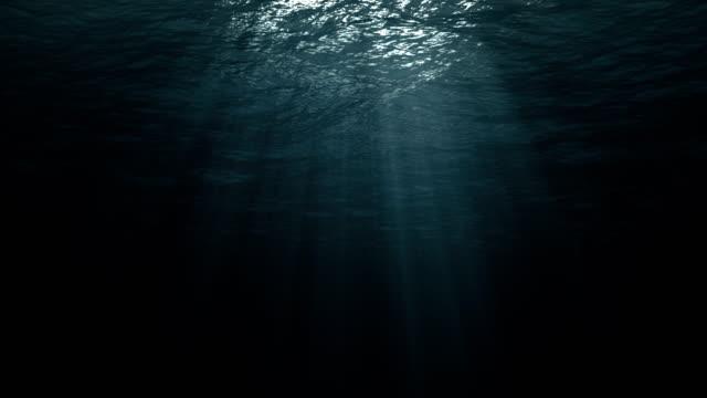 Perfectly Seamless Loop Of Deep Blue Caribbean Ocean Waves