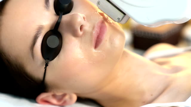 permanent laser hair removal - depilacja filmów i materiałów b-roll