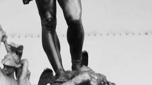 Perseus and the Head of Medusa, in Florence video