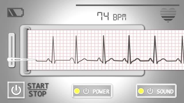 Personal Heart Rate Meter(EKG) video
