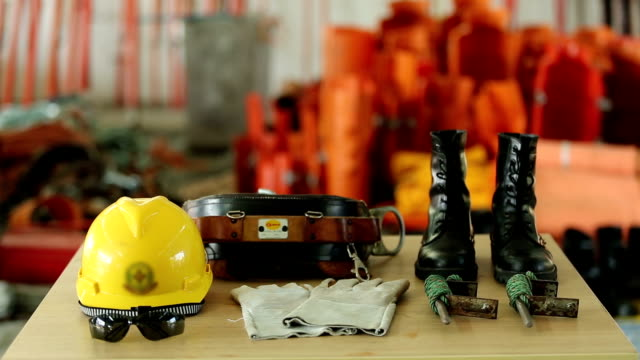 Personal safety workwear for Powerline Worker video
