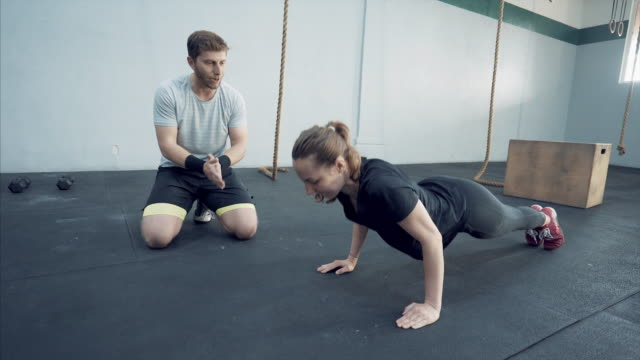 Personal trainer. video