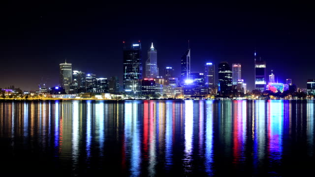 stockvideo's en b-roll-footage met perth, wa, australia - financieel district