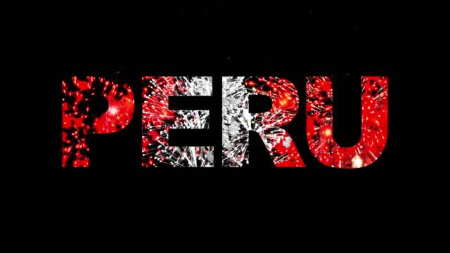peru. - peru stock-videos und b-roll-filmmaterial