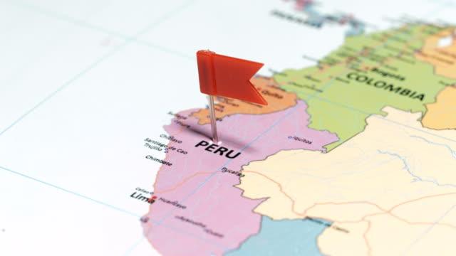 Perú con pin - vídeo