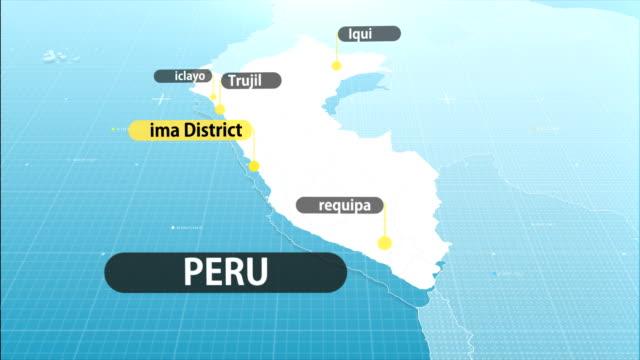 mapa peruano - vídeo