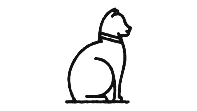 Pet Owner Icon Animation Footage & Alpha Channel