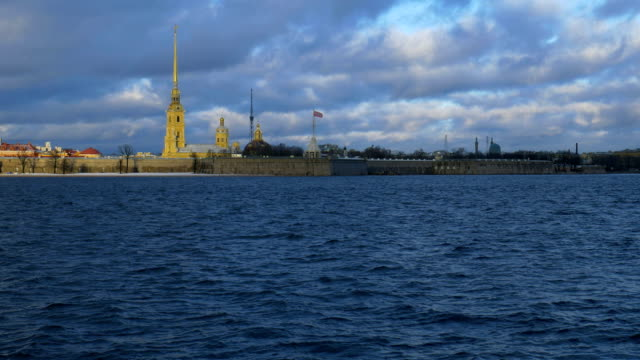 Peter and Paul Fortress of St. Petersburg. video
