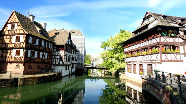 Petite France in Strasbourg, Realtime video