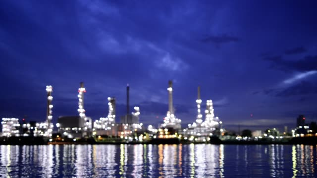 Petrochemical plant, Oil refinery, Industry plant blur Background Petrochemical plant, Oil refinery, Industry plant blur Background generation x stock videos & royalty-free footage