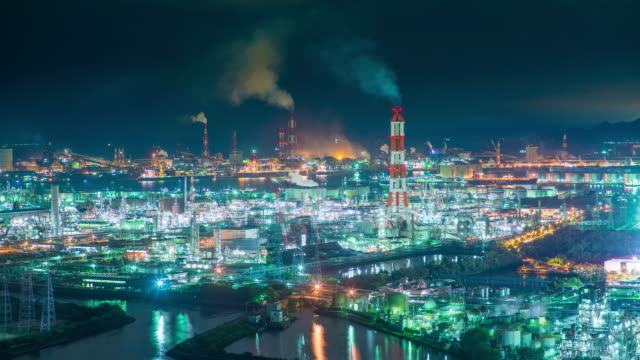 Petrochemical plant video