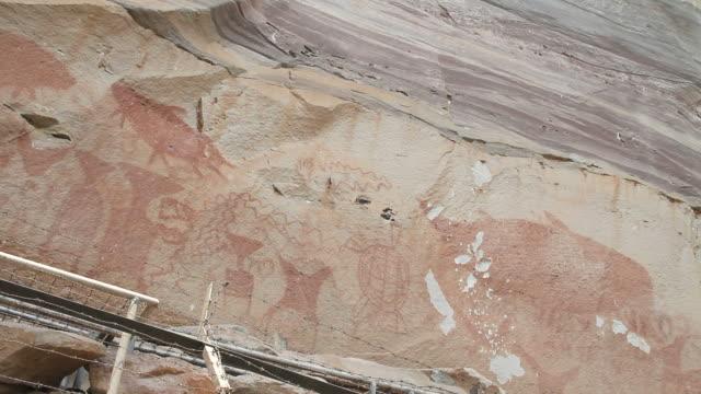 Pha Taem Cave Paintings. video