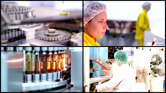 Pharmaceutical Manufacturing video