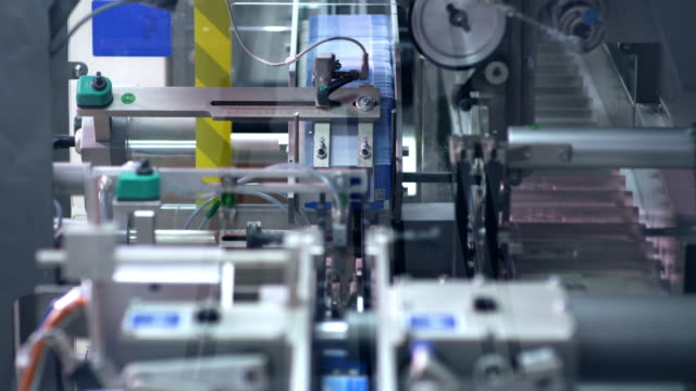 Pharmaceutical packaging equipment. Pharmaceutical manufacturing video