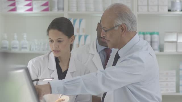 Pharmacist Chemist Store and Staff video