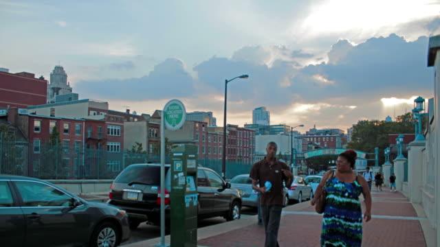 Philadelphia Market Street timelapse video