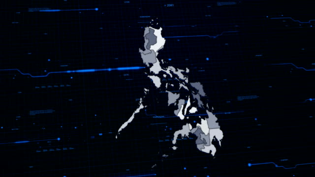 Philippines network map video