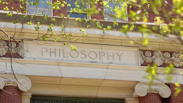 Philosophy Building On College Campus Sunny Day Philosophy Building On College Campus Sunny Day philosophy stock videos & royalty-free footage