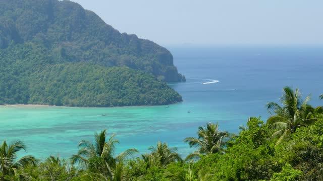 Phi-Phi island, Krabi Province, Thailand, 4k