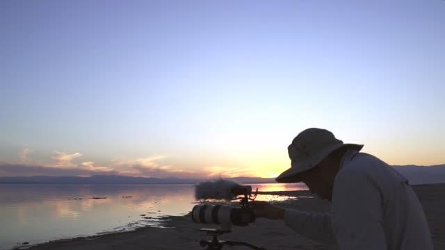 Photo Lake Sunset video