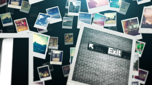 Photo Travel Dark a travel trough polaroid photo frame polaroid frame stock videos & royalty-free footage