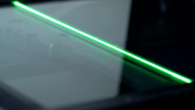 Photocopier Laser Moving