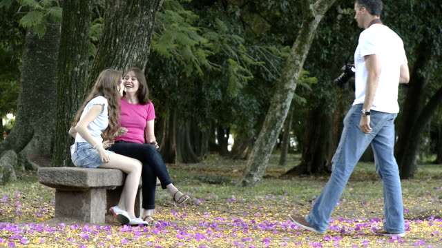 Photographer and teenagers video