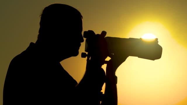 Photographer Capturing The Light video