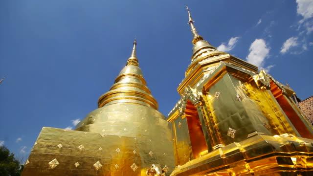 phra singh-templet i chiang mai thailand - kungen av thailand bildbanksvideor och videomaterial från bakom kulisserna
