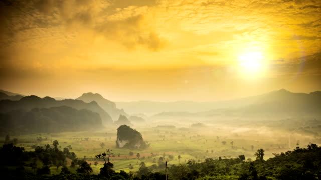 Phu lung ka at sunrise video