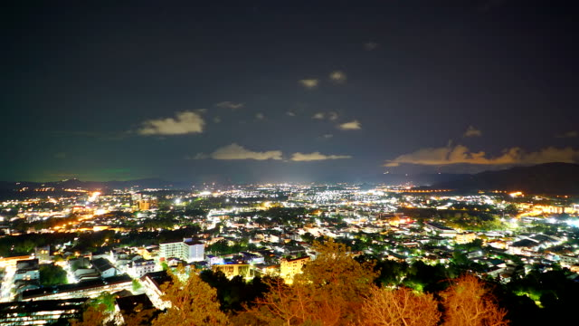 Phuket city time lapse