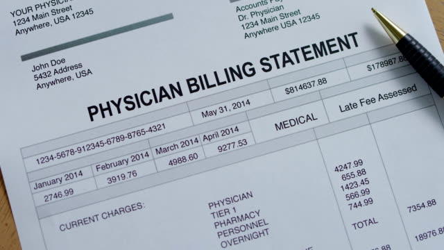 Physician Medical Past Due Bill video