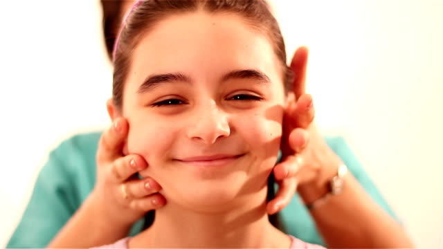 Physiotherapy for children with cervical problems video