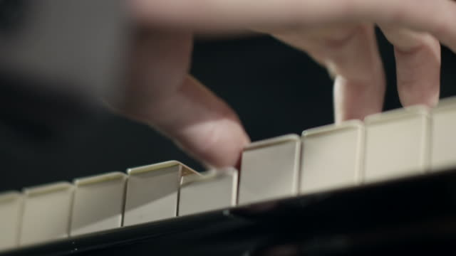 pianist composing music - classical architecture stock videos & royalty-free footage