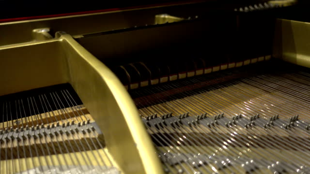 Piano strings video
