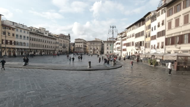 Piazza della Santa Croce and Cathedral, Florence, Italy 3