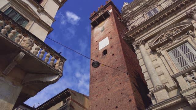 Piazza delle Erbe architecture detail
