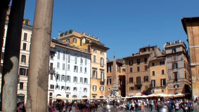 Piazza Rotunda - Rome, Italy video