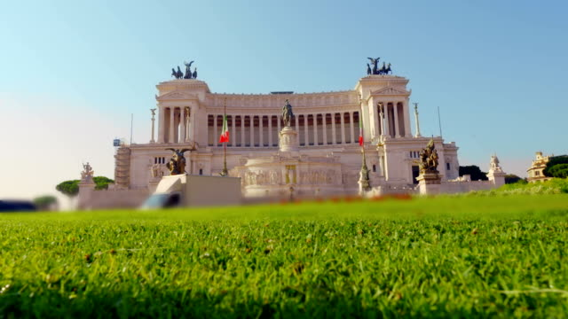 Piazza Venezia in Rome - Altar of the Fatherland video