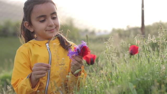 Picking Flower