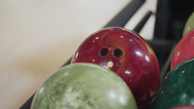 Picking up Bowling Ball video