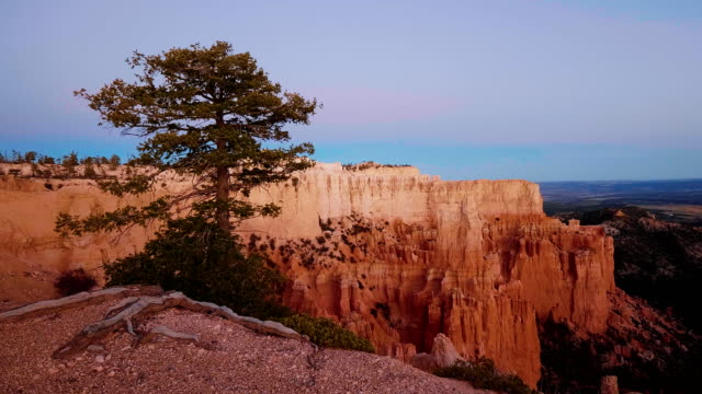 Picture perfect scenery and landscape at Bryce Canyon in Utah video