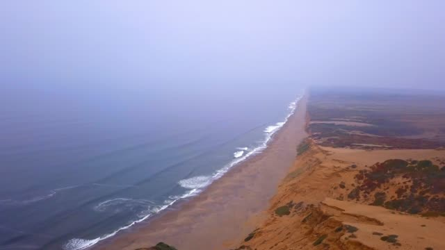 picturesque aerial view of the Pacific ocean