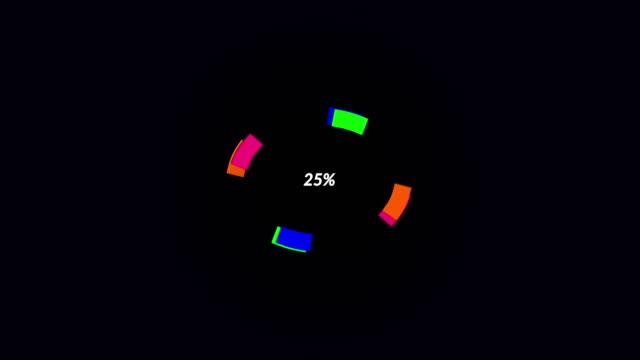 Pie Chart icon animation