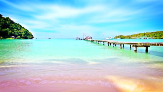 Pier and beach video